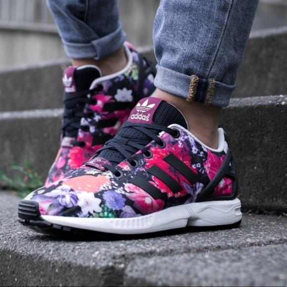 Adidas Torsion Zx Flux Ortholite Floral